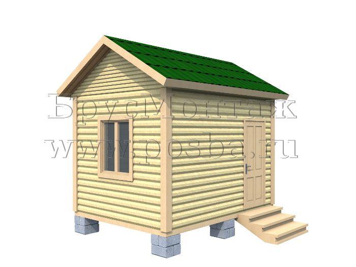 Каркасный дом 3 на 4