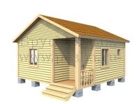 Проект одноэтажного дома 6х6