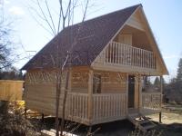 фото деревянных домов из бруса