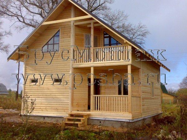 одноэтажные дома из бруса нижний новгород