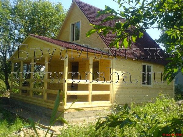 Дома из бруса недорого в Новгородской области