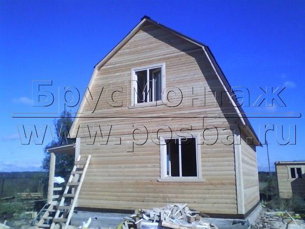Чем хорош деревянный дом из профилированного бруса?