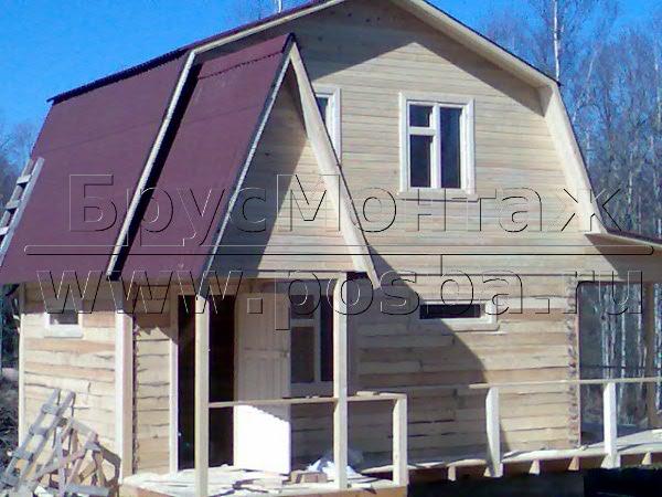 Материалы для отделки стен домов из бруса