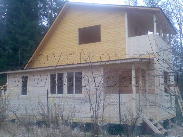 Доступные цены на дома из бруса под ключ в Ярославле и области.