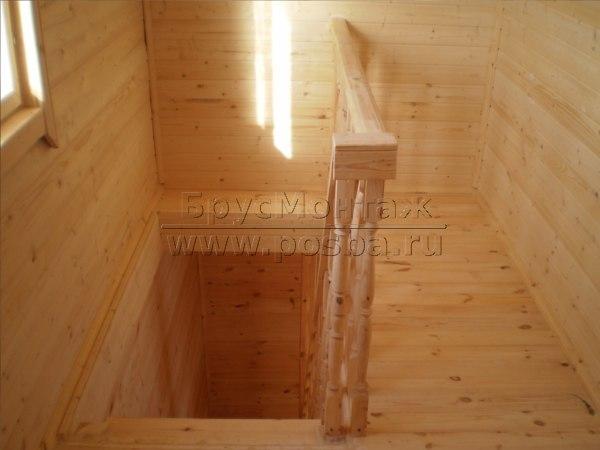 Строительство домов из бруса 6 на 6 в Костроме и Костромской области