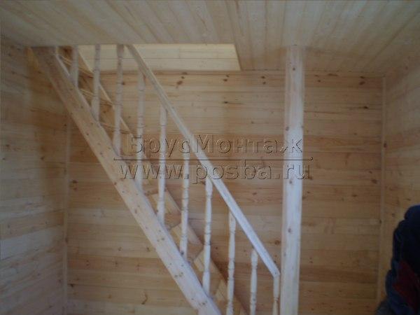 Строительство деревянных домов из бруса эконом класса в Смоленске и Смоленской области