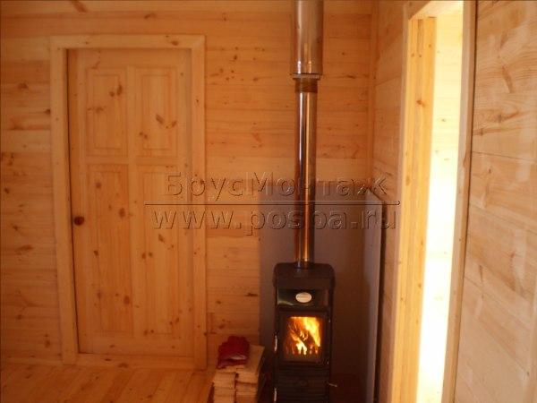 Проекты деревянных домов из бруса 8 на 8