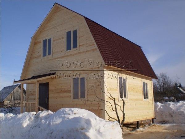 Выбор компании по строительству дома из бруса