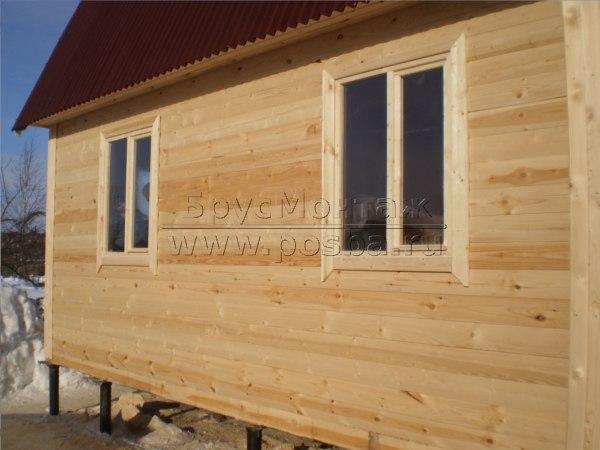 Строительство дома из бруса высокого качества по низкой цене