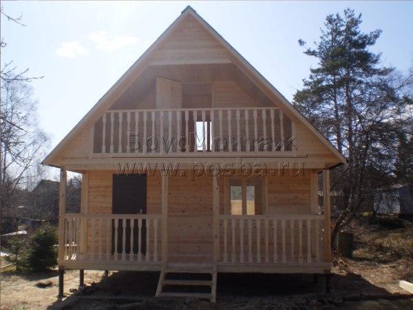 Строительство деревянных домов из профилированного бруса в Калуге и Калужской области