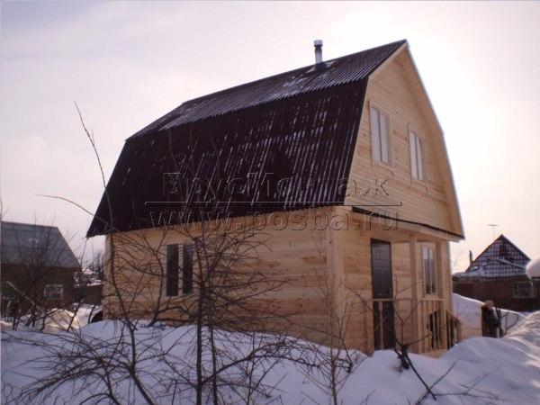Большой выбор проектов для постройки дома под ключ из бруса в Череповце