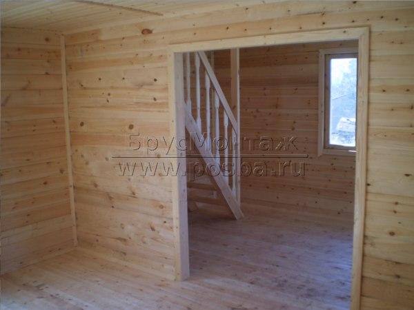 Строительство домов из бруса недорого в Ярославле и Ярославской области