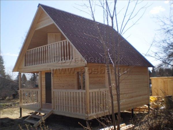 Цены на строительство домов из бруса в Вологде и Вологодской области