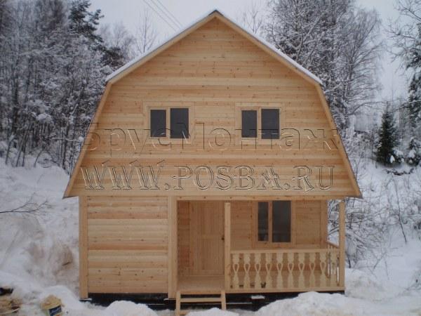 Дома из бруса дешево в Тульской  области