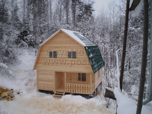 Строительство деревянных домов из бруса в Рязани и Рязанской области