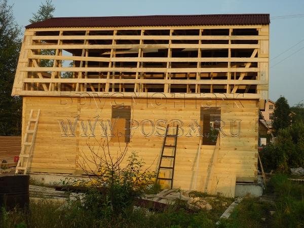 Недорогие дома из бруса под ключ в Рыбинске