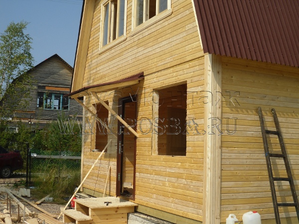 Владимирская область дома из бруса
