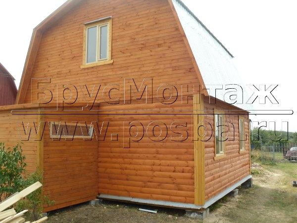 Строим недорогие дома из бруса в Рязани