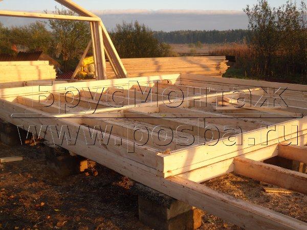 Строим недорого загородные дома из бруса под ключ