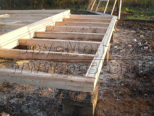 Строительство домов из бруса для постоянного и сезонного проживания