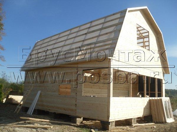 Строительство домов из бруса в Липецке и Липецкой области