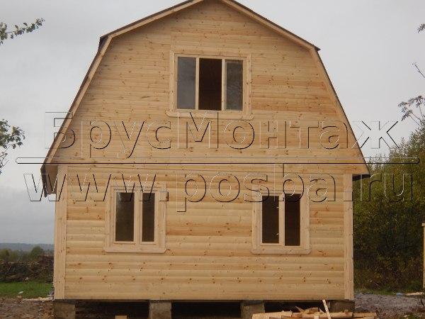 Строим деревянные дома из бруса под ключ в Брянской области и Брянске.