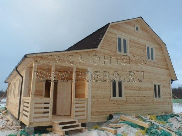 Готовые дома из бруса недорого в Брянске