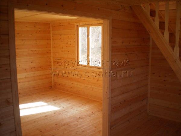 Строительство домов из профилированного бруса 150 на 150 под ключ
