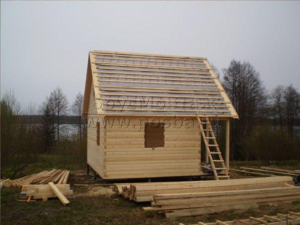 Стоимость строительства дачного дома из бруса