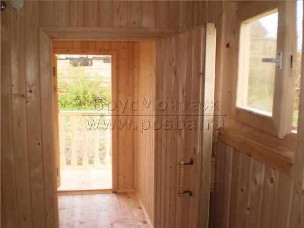 Каркасно-щитовые дачные дома - строительство под ключ с чистовой отделкой
