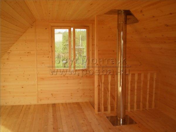Компания БрусМонтаж лидер по строительству недорогих дачных домов