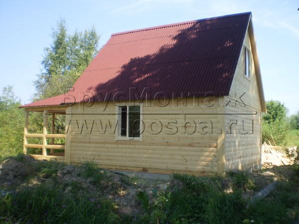 Строим недорогие дачные деревянные дома в Брянске под ключ
