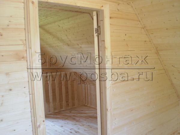 Строим недорогие деревянные дачные дома в Можайске