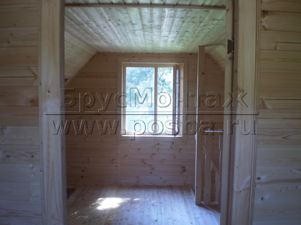 Недорогие дачные деревянные дома строим с отделкой под ключ