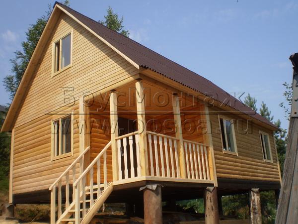 Строим недорогие дачные деревянные дома в Коломне