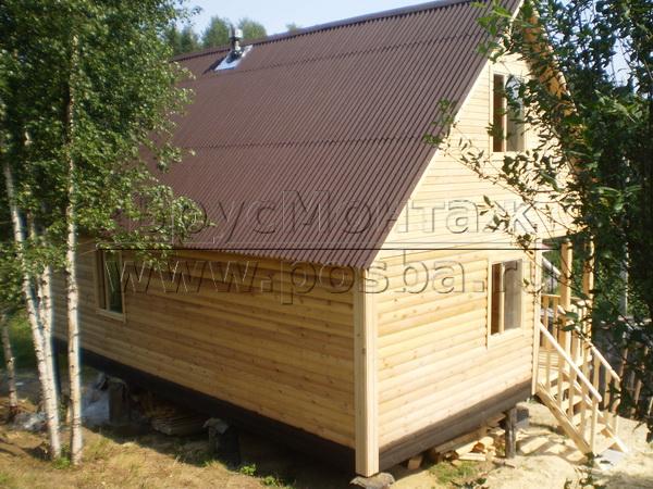 БрусМонтаж - Продажа и строительство дачных деревянных домов от производителя без посредников