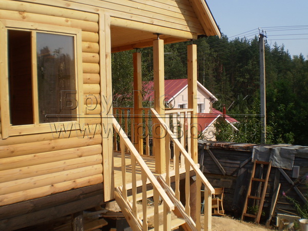 Строим недорогие деревянные дачные дома в Бронницах