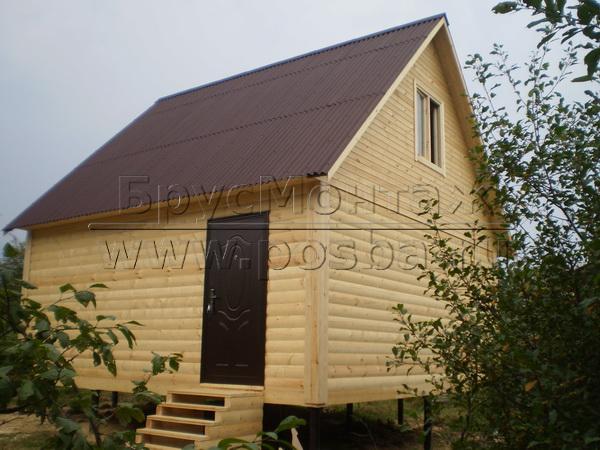 Строим дачные дома в Талдоме по типовым и индивидуальным проектам.