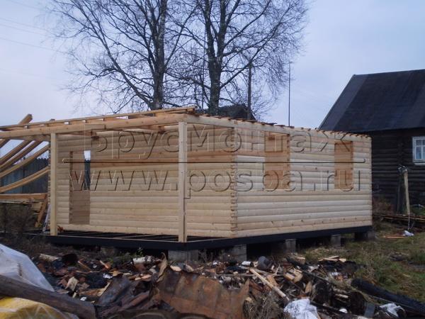 Строим одноэтажные и двухэтажные деревянные дома в Рязанской области и Рязани
