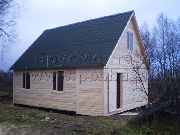 Строительству дачных домов от компании БрусМонтаж